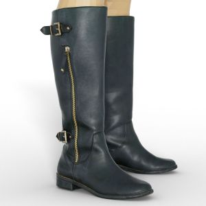 Vintage Boot Tall Black
