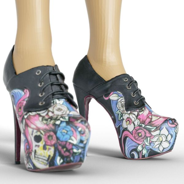 Vintage Heels Pink