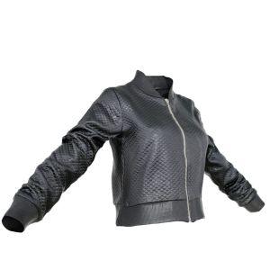 Vintage Jacket Black Decorated