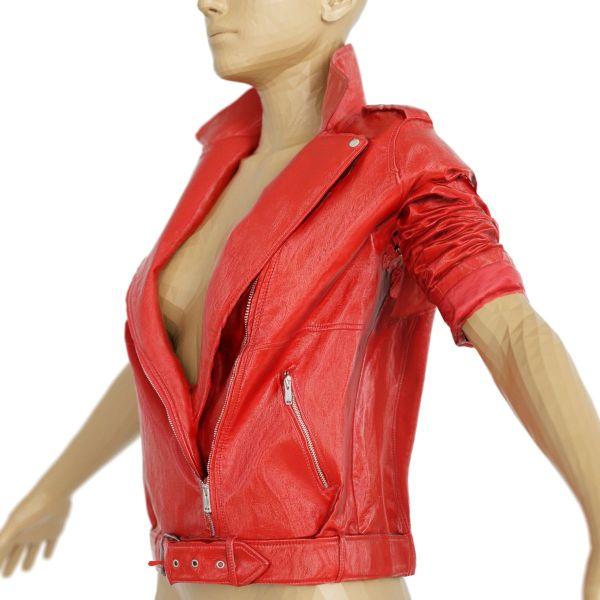 Vintage Jacket Red Leather