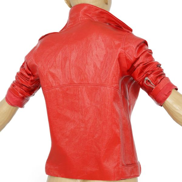 Vintage Jacket Red Leather