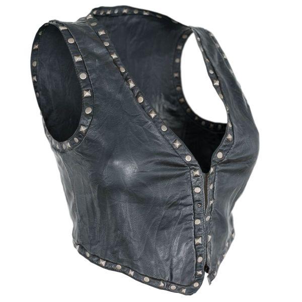 Vintage Top Leather Studs