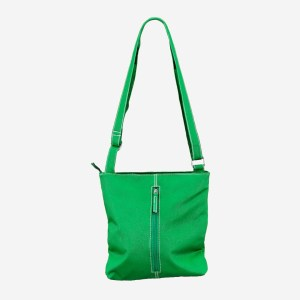 Green Leather Shoulderbag