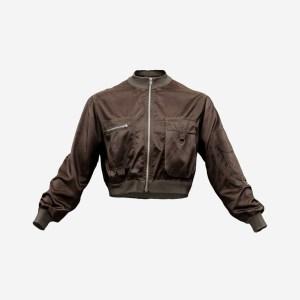 Mini Brown Pocket Jacket