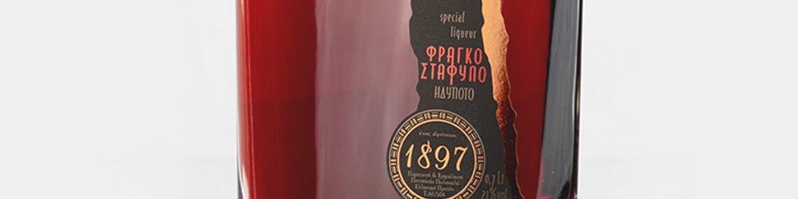 Λικέρ Φραγκοστάφυλο 700ml, Ποτοποιία Πολυκαλά