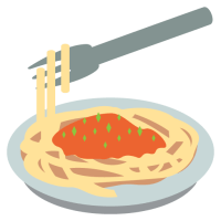 Bowl of spaghetti
