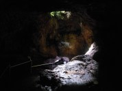 In The Hana Lava Tube