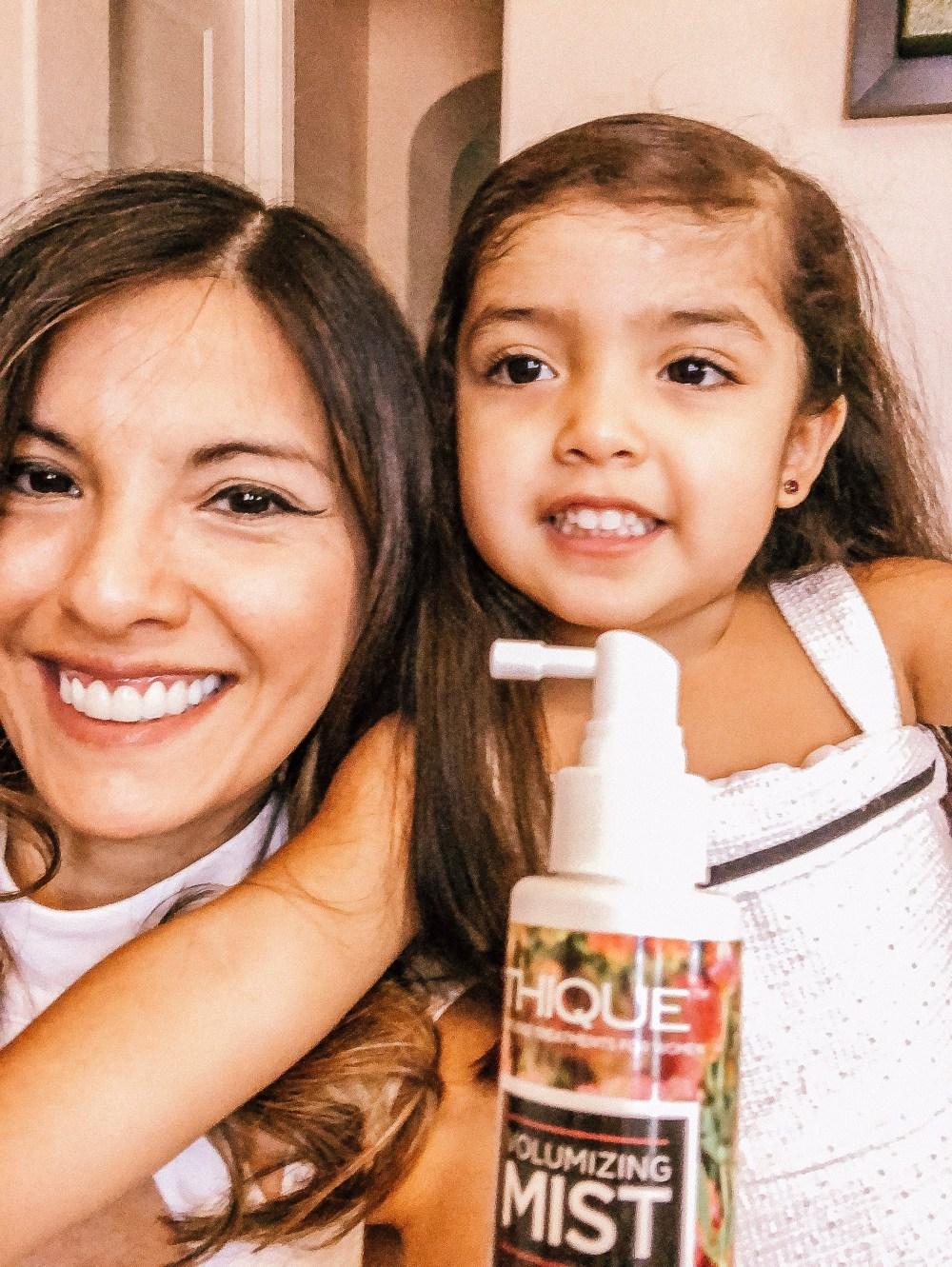 Thique hair care polymathmom influencer hair tips