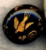 Lori Feiss, Translucent Layered Bead, 1995