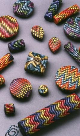 Laura Liska, Bargello Beads, 1995