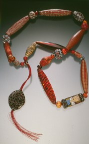 Cynthia Toops, Red Sample Necklace, 1998
