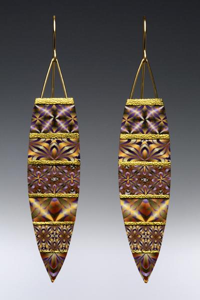 Sandra McCaw, Earrings, 2006