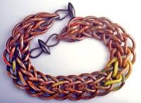 Nan Roche, Autumn Loop in Loop Necklace