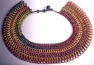 Nan Roche, Chain Mail Necklace, c.1999