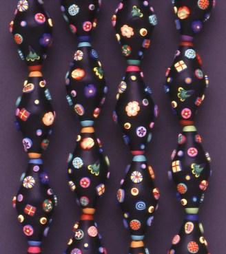 Pier Voulkos, Crusty Pod Beads, 1993