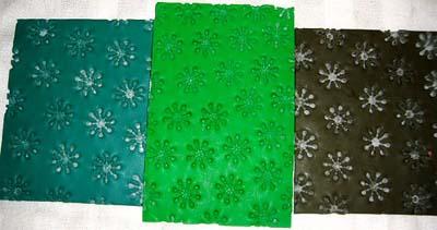 texture sheets by Barbara Poland-Waters