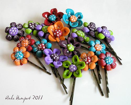 anke humpert flower hairpin