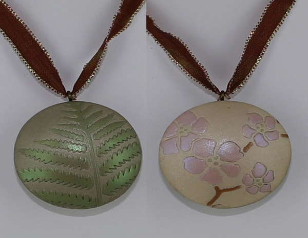 7 polymer clay jewelry tutorials polymer clay reversible mozeypictures Images