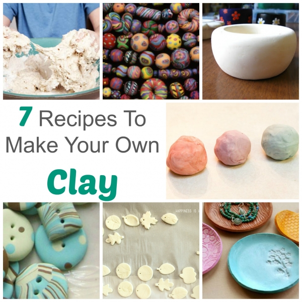 7 Recipes To Make Your Own Modeling Clay – Polymer Clay