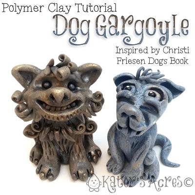 Polymer-Clay-Dog-Gargoyle-Tutorial-by-KatersAcres