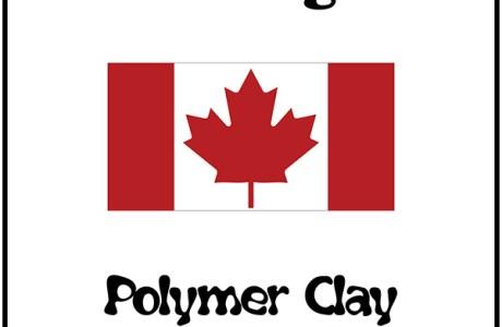 Canada Day Polymer Clay