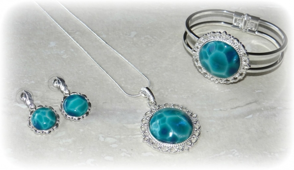 Another Take on Faux Larimar