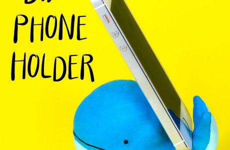 A Whale of a Phone Holder