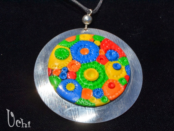 Coloured Circles and Clay