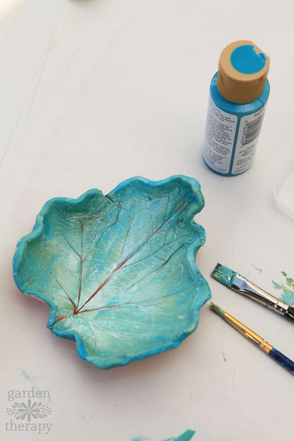 clay craft ideas clay leaf dishes polymer clay 1323