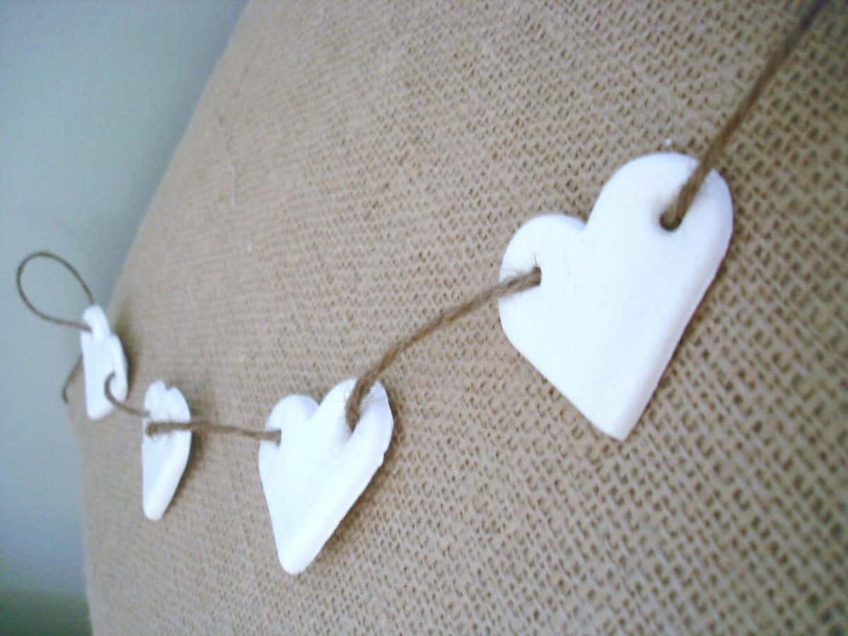 Clay Heart Garlands