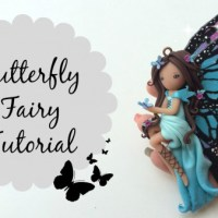 TUTORIAL: Polymer Clay Butterfly Fairy