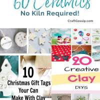 60 No Kiln Ceramic Craft Ideas