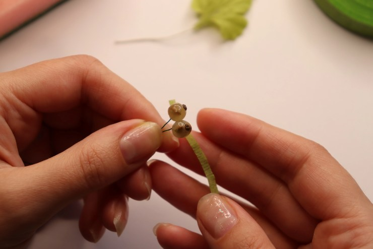 19 white currant of transparent polymer clay