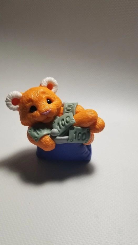 22 Polymer clay cute tiger cub