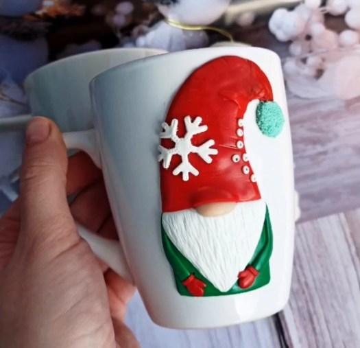 Polymer clay ideas: Christmas decor