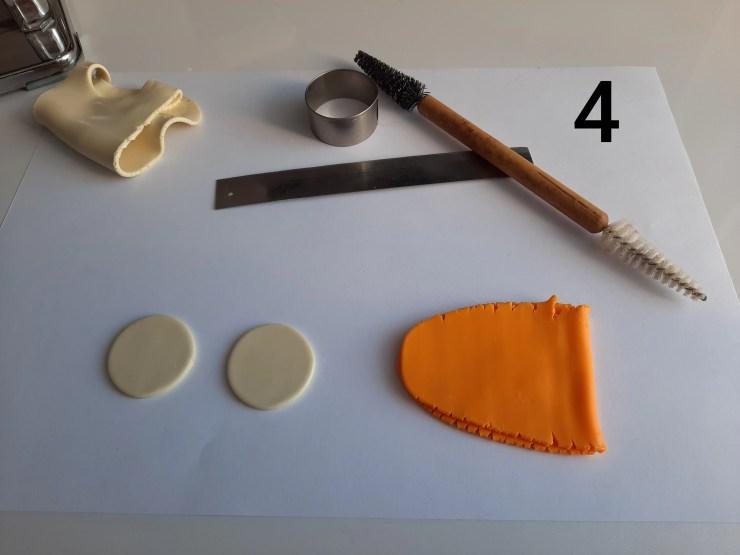 Photo 4. Polymer clay cake tutorial