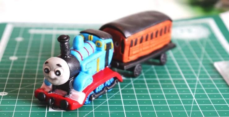 Polymer clay Thomas the engine