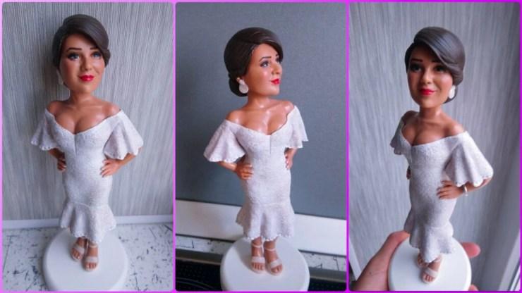 Polymer clay doll 1
