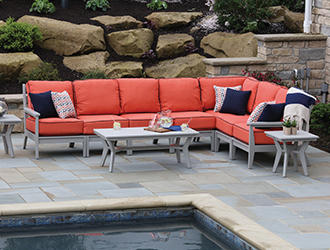poly outdoor furniture dining sets