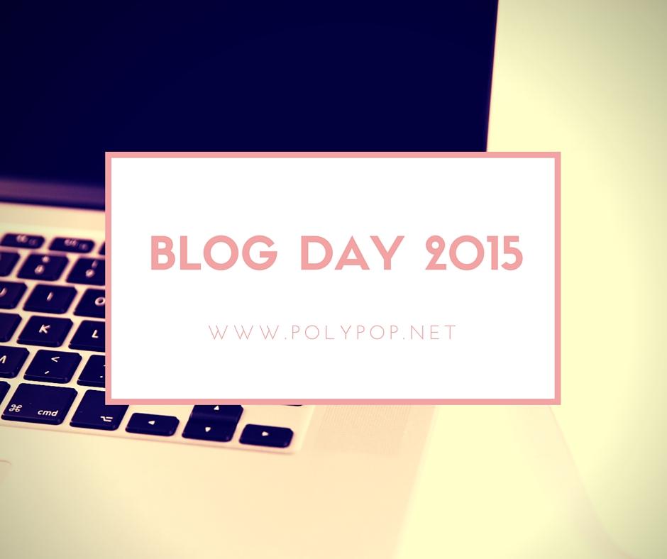 Blog day 2015