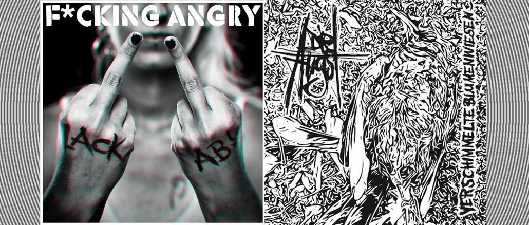 F*cking Angry Die Angst Lack ab Verschimmelte Blumenwiesen