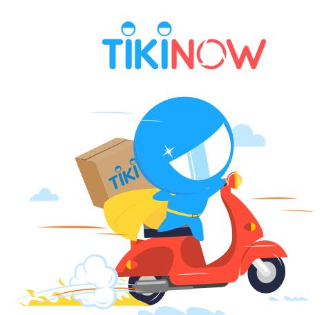 TikiNOW nhận hàng trong 2h: freeship Tiki 100% tại Hà Nội, Hải Phòng, Hồ Chí Minh, Nha Trang, Đà Nẵng và Cần Thơ.