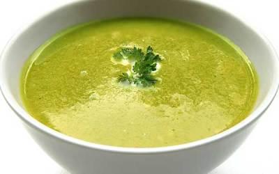 Zupa krem z bobu