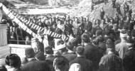 "Kóto néska na 6 Éčko 1941 fašistiškíta Álamanija flíza ot Bulgarija na Trákiya. Ejtám hi čákaha edná žépa Grci (Ellines) Hristijáne i Pomaci i rékaha tâhno to ""Ne"" na fašístete […]"