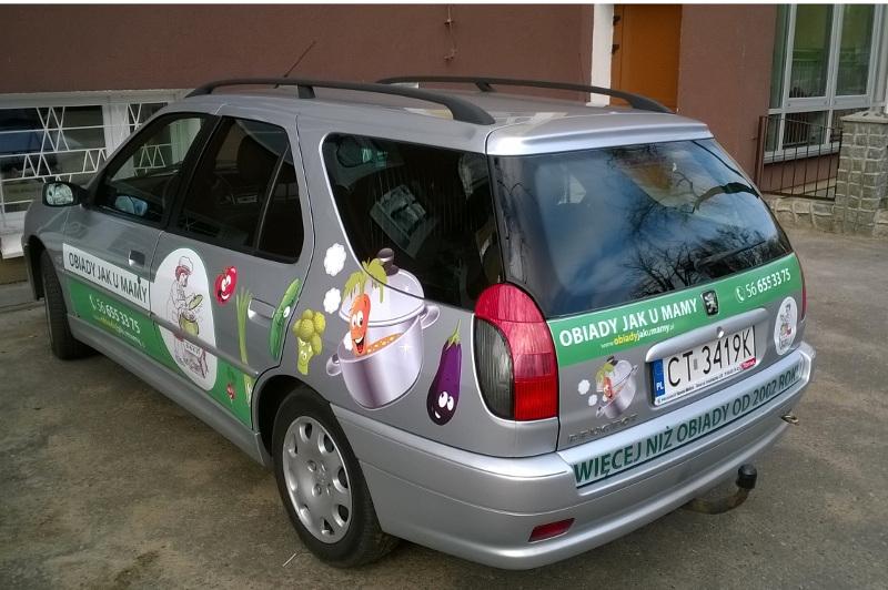samochody reklama