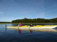 Side of the kayak