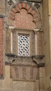 Mezquita façade w/annoying accent mark.