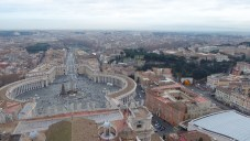 When you get there, climb to the top of St. Peter's Dome.
