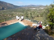 We found a great place to stay at an organic olive orchard!