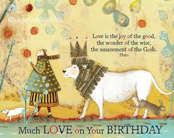 SacredBee_lion_birthday